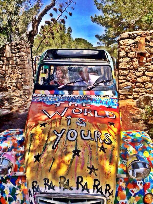 Ibiza, just married